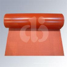 Tissu en fibre de verre revêtu de silicone