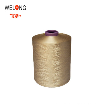 Recycled dope dyed 150D/36F Recycle Polyester Yarn DTY for knitting