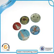 Insignia de goma impresa logotipo de encargo del Pin de la solapa con el Pin