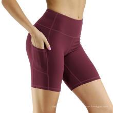 Out Pocket Non-Through-Through Yoga Shorts