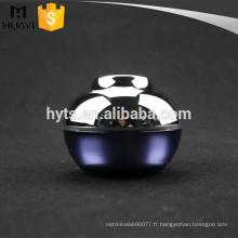 Pot de luxe cosmétique acrylique de 30ml
