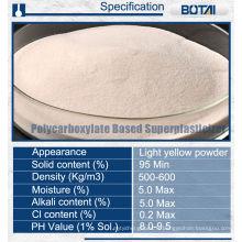 polycarboxylate superplasticizer ether poudre