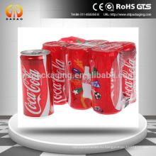 Пользовательские этикетки для упаковки с большим усадкой для домашних животных / рукав для упаковки напитков и пластиковых бутылок