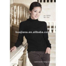 Luxury women's winter knitting cashmere pullover