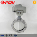 EPDM PTFE Seal DN50 DN100 Motorized Electric Carbon steel butterfly valve
