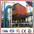 Industrial dust removing bag filtration systems