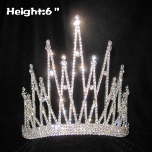 All Clear Crystal Pageant Queen Crowns