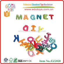 MDF alfabeto carta de materiales educativos juguetes magnéticos juego de letras alfabeto de letras de madera para niños
