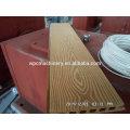 Embalagem de superfície de material de plástico de padrão de madeira
