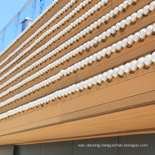 Eco-friendly Wood-plastic Composites Wpc Wall Siding