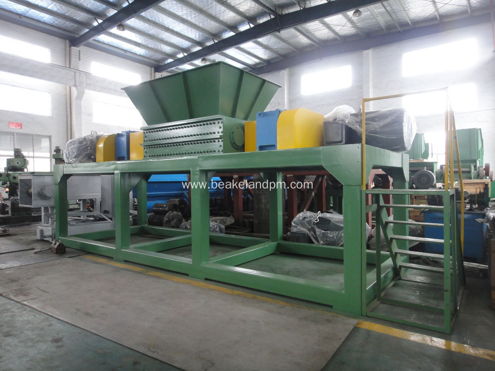 shredder machine for plastic bags