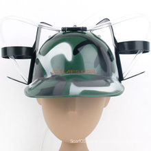 Custom Print Camouflage Drinking Beer Hat with Straw for St Patrick′s Day