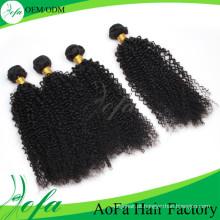 Mais recente Hot-venda Mongolian Virgin Hair Kinky Curly Wave