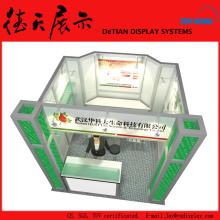 3x3m Reciclar el soporte de tubo cuadrado de aluminio sin techo de Shanghai