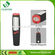 Super brilhante com magnético IP65 30 + 7 conduziu a luz conduzida portátil do trabalho