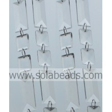Cristal en plastique divers 25MM & 50MM Perles String Garland