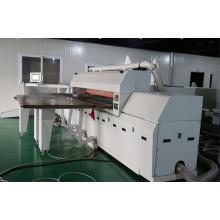 Mesa de deslizamiento de precisión de carpintería Sierra de alta velocidad de panel electrónico de la máquina