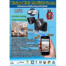 Construire dans les lumières de secours de capteur de mouvement et de lumière wifi 5.0 pour les véhicules de sécurité et chalet