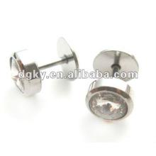 Нержавеющая сталь козьего манжета серьги пирсинг стержень уха козелка ювелирные изделия