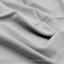 Tissu 100% coton en tissu de Ramie Look