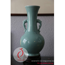 El mejor florero de cerámica del en-Esmalte del diseño de la venta de la venta