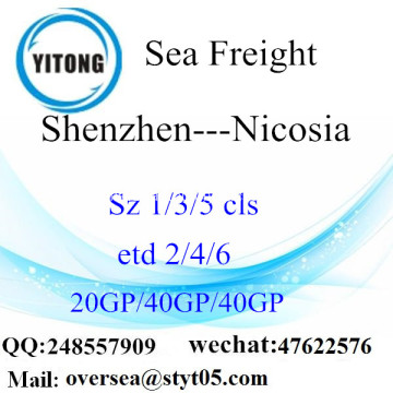 Shenzhen Port Sea Freight Shipping ke Nicosia