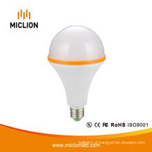 Bulbo do diodo emissor de luz listado UL do caso plástico de 15W E27