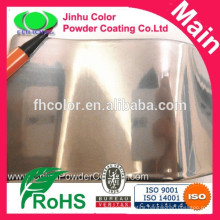 Decorative high gloss chrome mirror powder coating
