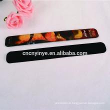 animal vinil pvc macio personalizado slap pulseira