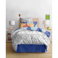 Vogue Geometry! 100% microfibra cama conjunto com impressão, 250 largura, 120gsm