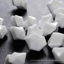 Venta al por mayor de piedra de hielo acrílico de color, blanco
