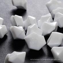 Оптовый цветной акриловый камень льда, белый