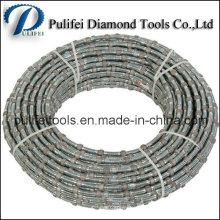 Scie à main de corde de fil de diamant pour couper la pierre de quartz