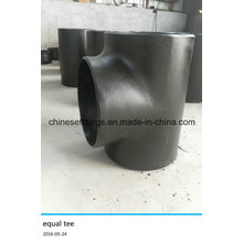 "Pipe Fitting Seamless 18"" Std Carbon Steel Straight Tee"