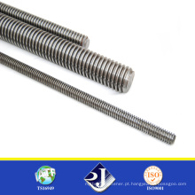 304 aço inoxidável DIN975 Thread Rod