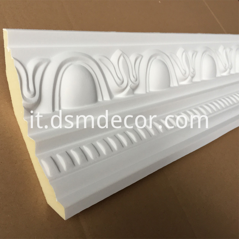 Polyurethane Decorative Cornice