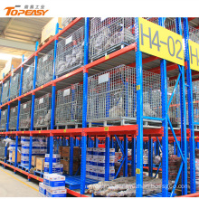 4-6 layers easy install powder coated wide span shelving steel