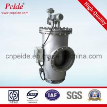 Filtre à eau automatique en acier inoxydable (certificats ISO SGS)