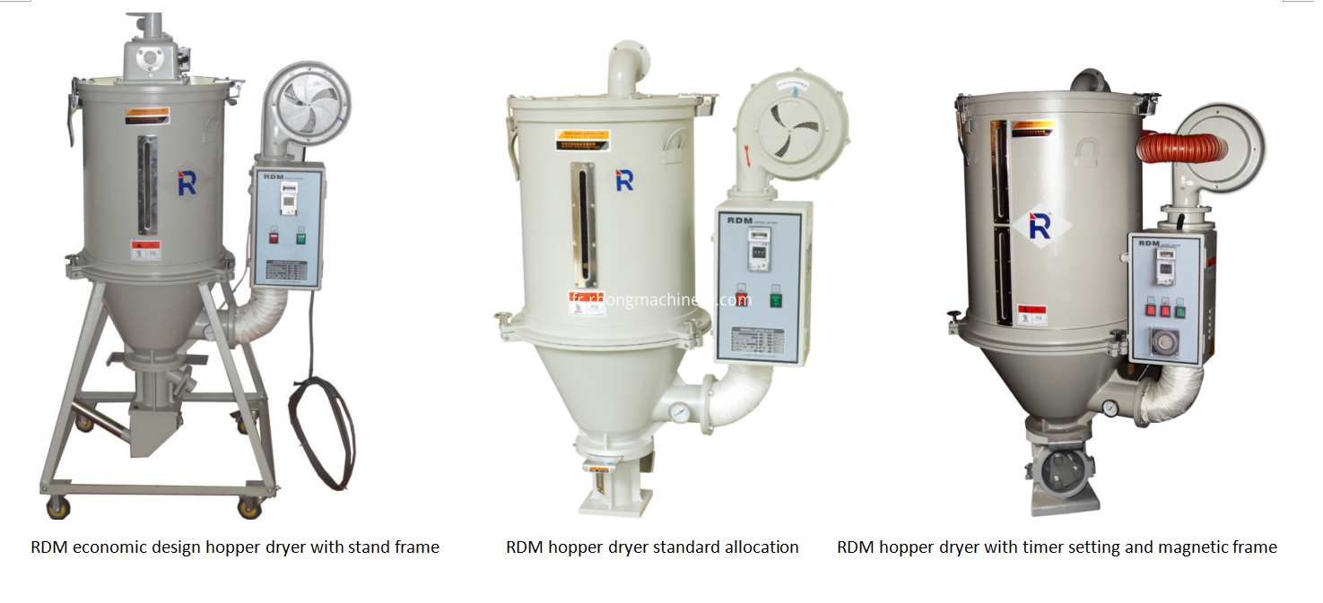 RDM hopper dryer