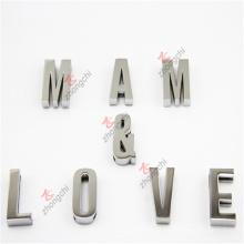 Alta qualidade de metal slide letras alfabeto encantos jóias (msl51031)