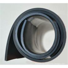 Folha de borracha de butadieno de nitrilo NBR preto resistente ao óleo / tapete