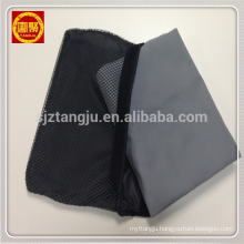 Light-weight Suede Soft Gray Microfiber Beach Towel with Mesh Bag