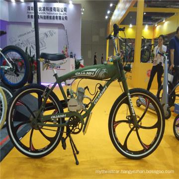 Two 2 Stroke 80cc 50cc Gasoline Engine Kit Motorized Gas Tank Beach Cruiser Motorbikechopper Moped Bike Motorcycle