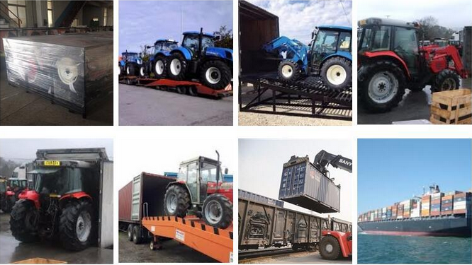 tractor shipping