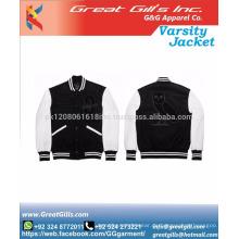 benutzerdefinierte Mann / Frau Winter Uni Jacke / Bomber Jacken