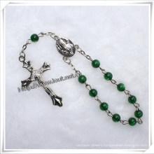Acrylic Beads One Decade Rosary, Religious Catholic Bracelet with Cross (IO-CE030)