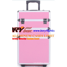 Colorful Custom Aluminium Mobile Cosmetic Case