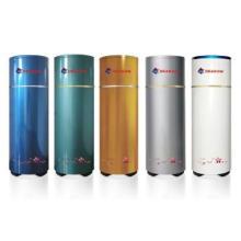 Household split heat pump water tank