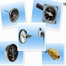 Termómetro del transformador; Manómetro del vacío del transformador; Indicador de nivel de aceite; Válvula de Liberación de Presión