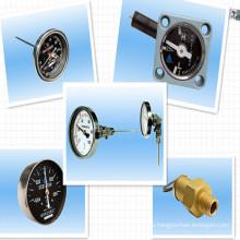 Трансформаторный термометр; Вакуумный манометр трансформатора; Манометр уровня; Клапан сброса давления
